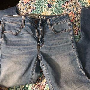 Light blue American eagle jeans